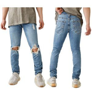 True Religion Rocco Relaxed Skinny Jeans Mens